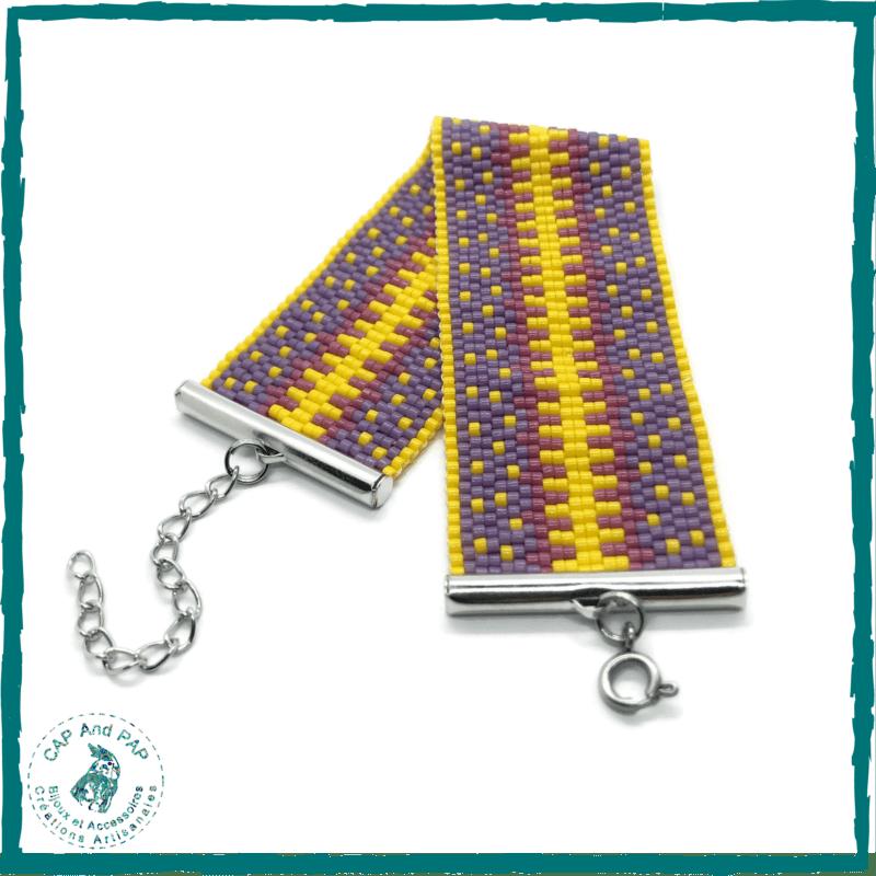 Bracelet Multicolore Manchette